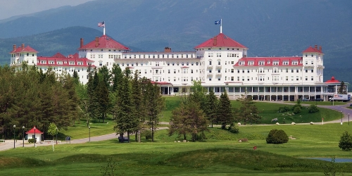 Omni Mount Washington Resort - Mount Washington Course New Hampshire golf packages